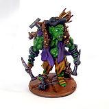 Cave troll prospector unpainted resin miniature