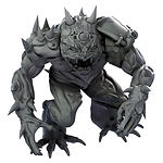 Buy dnd Frog demon brute from Mystic Piegon Gaming