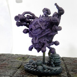 Mad alchemy beholder (large resin miniature)