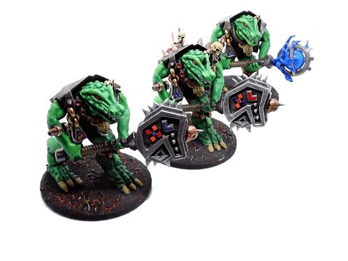 Lizardfolk Elite Army resin miniatures for AoS/  D&D