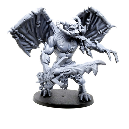 Daemon Prince (Balor proxy resin miniature for D&D / Warhammer)