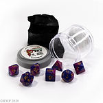 Buy DUAL DICE - PURPLE & BLUE from Mystic Piegon Gaming