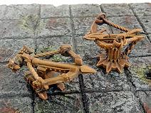 Ballista siege weapon miniature (Dungeons and Dragons, Warhammer, Age of sigmar,