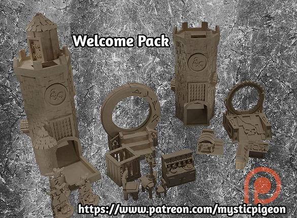 Welcome Pack 1 Mystic Pigeon Gamings Pat