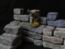 Dungeon/terrain stack-able building blocks