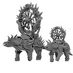 Buy Spawn of chaos Psi Beast Tank (DND / 40k Proxy) from Mystic Piegon Gaming