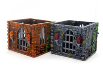 Brick dice and mini jail (terrain, dice or mini jail)