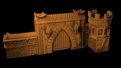 Myth Drannor walls from Mystic Pigeon Ga