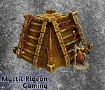 Buy Aztec pyramid terrain for table games from Mystic Piegon Gaming