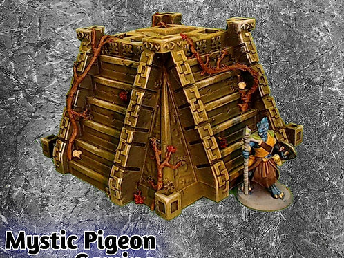 Aztec pyramid terrain for table games