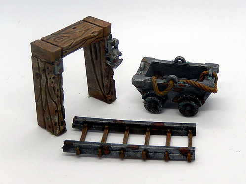 Mine cart (digital STL file)