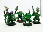 Buy Frogfolk miniatures with Gandalf the green from Mystic Piegon Gaming