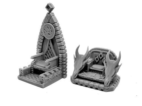 Dragon Throne (resin miniature)