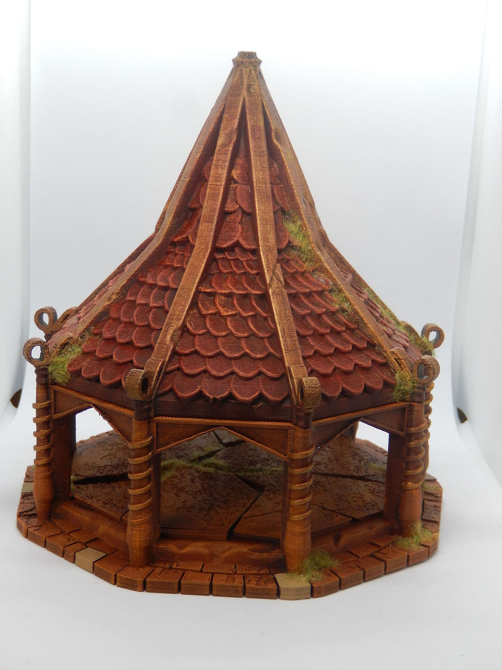 Elf air spire building inspired by Myth Drannor and Rivendell