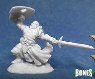 Reaper Bones SIR RATHAN KRANZHEL HUMAN FIGHTER 77385
