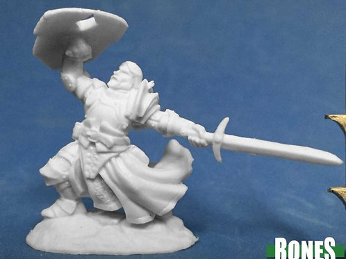 Reaper Bones SIR RATHAN KRANZHEL HUMAN FIGHTER 77385
