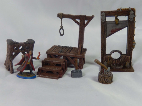 Executioners Set (Painted miniatures) by