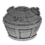 Industrial factory pressure pot resin miniature