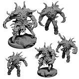 dnd Eldritch spawns of chaos (DND /Warhammer 40k Proxy)