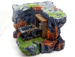 Buy Abandoned mine tabletop diorama (D&D, Warhammer, 40k, AoS) from Mystic Piegon Gaming