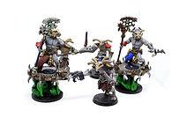 Avian beastmen elite demon army (resin miniatures)