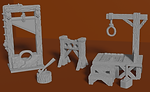 Buy Executioners set (Tabletop miniatures for home 3d printing) from Mystic Piegon Gaming