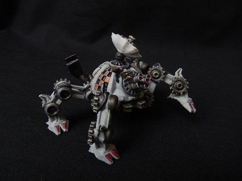Gun tank, robotic mech miniature