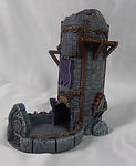 Buy Elven observation dice tower from Mystic Piegon Gaming