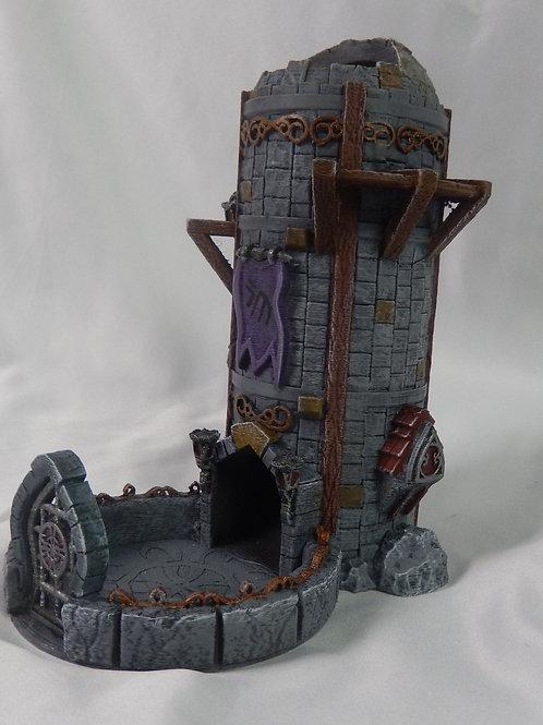Elven observation dice tower