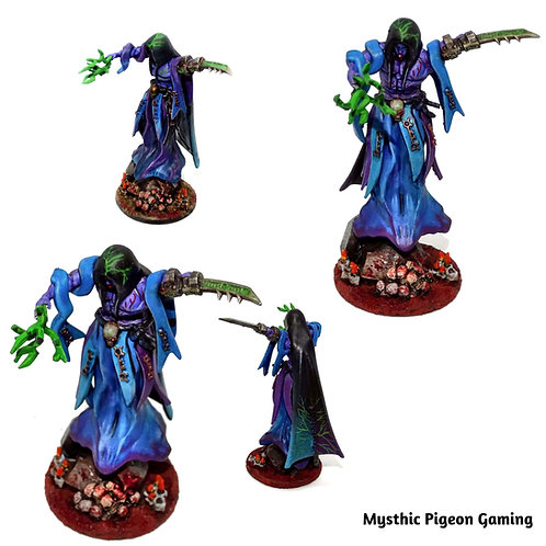 Void revenant resin miniature 40k / Dungeons and Dragons