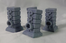 Manacled Pillars (Resin Miniatures, Dungeons and Dragons, Warhammer)