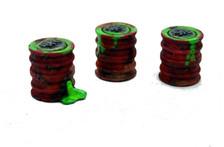 Oil/Toxic waste barrels (Wargame/tabletop terrain)