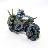 Infernal War Bike Resin Miniature (Warhammer 40, Dungeons and Dragons, Gaslands)