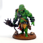 Buy Cave Troll (unpainted resin miniature) from Mystic Piegon Gaming