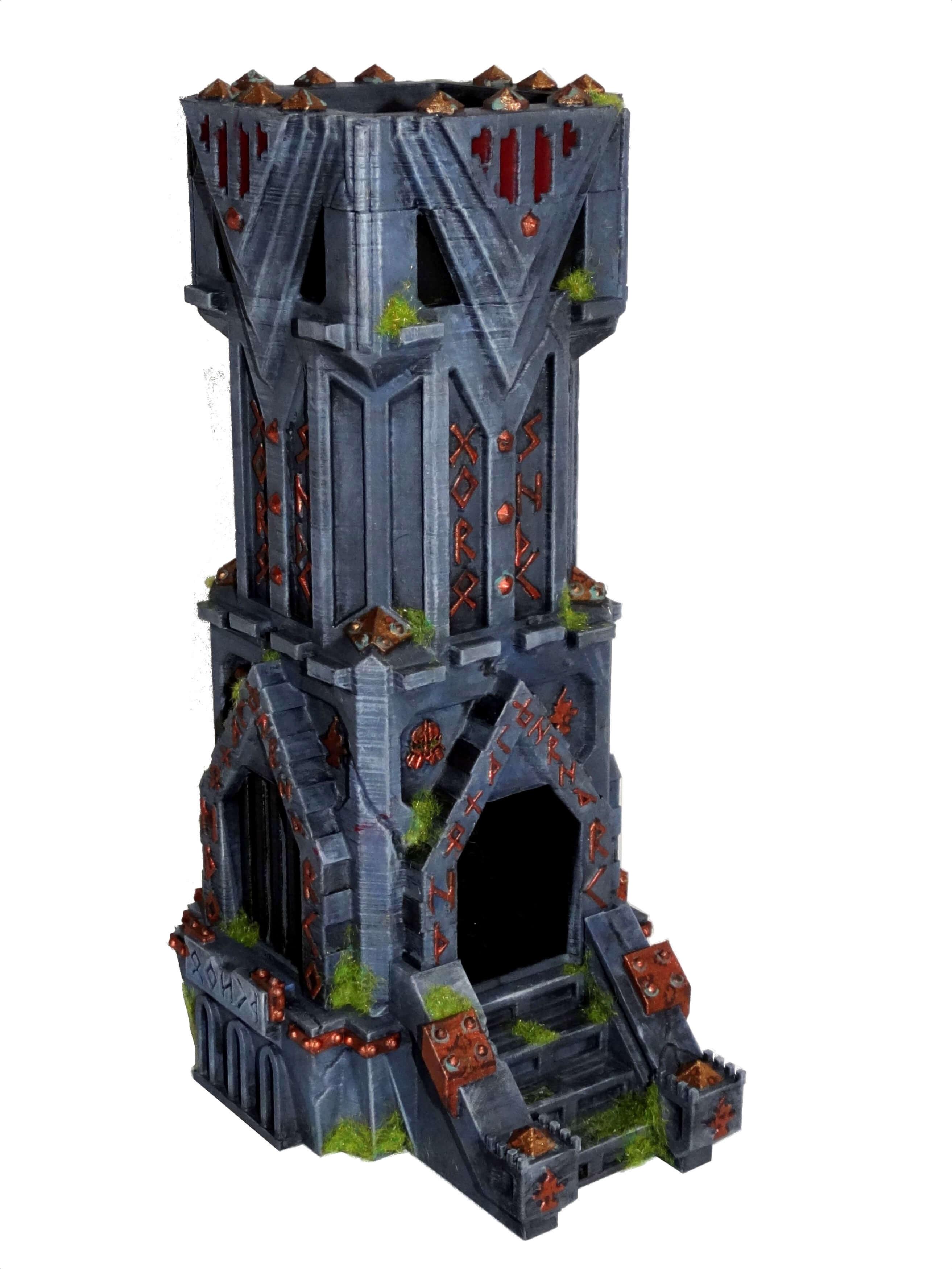 Docsmagic.de Dice Tower Dragon Wooden Small-würfelturm