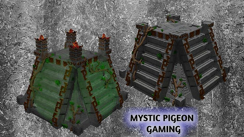 Aztec Pyramid from Mystic Pigeon Gaming, part of May 2020's Patreon reward.