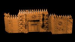 City of dis modular walls from Mystic Pi