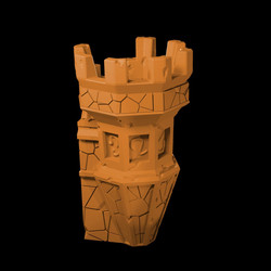 Watch Tower 1 Myth Drannor walls from My