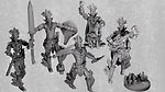 Buy Aztec Warrior Clerics/Fighter Mini Pack (Digital Files for home 3D printing) from Mystic Piegon Gaming