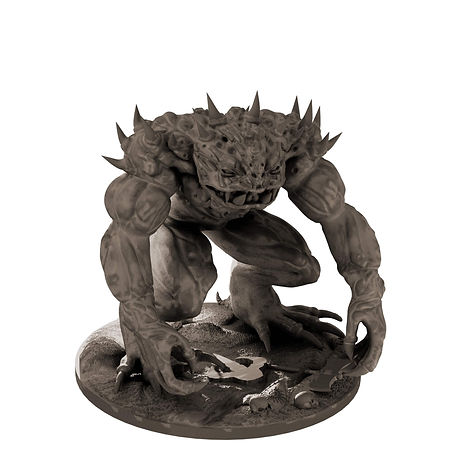 Nezrou Demon from Mystic Pigeon Gaming