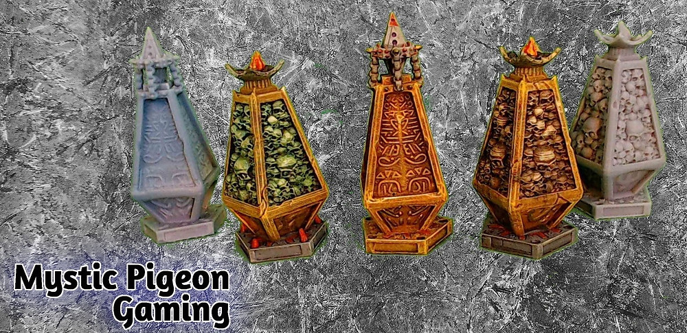 Lost sands Obelisk(s) - miniatures and terrain for tabletop games such as D&D / Warhammer 40k