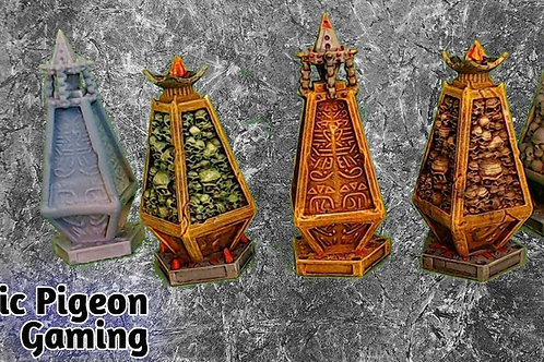 Lost sands Obelisk(s) - miniatures and terrain