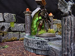 Buy Fel portal/summoning stone or ritual altar (Dungeons and dragons, warhammer, fro from Mystic Piegon Gaming