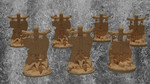 Buy Objective marker pack for Warhammer, kill team and similar tabletop games (STL) from Mystic Piegon Gaming