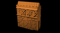 Straight 1 Myth Drannor walls from Mysti
