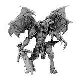 Daemon Prince (Balor proxy resin miniature for D&D / Warhammer)