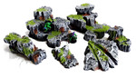 Buy Rock scatter terrain (painted, Dungeons and Dragons, Warhammer) from Mystic Piegon Gaming