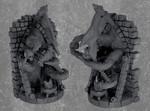 Buy Eldritch gate spiritual weapon miniature (D&D mini) from Mystic Piegon Gaming