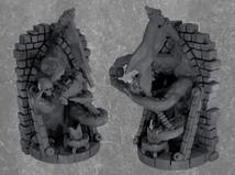 Eldritch gate spiritual weapon miniature (D&D mini)