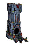 Buy Dwarf fortress dice tower & tabletop terrain from Mystic Piegon Gaming